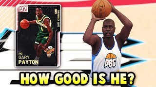 How GOOD Is Pink Diamond Gary Payton ACTUALLY? | The Best Point Guard In NBA 2K19 MyTEAM