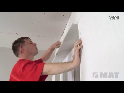 How to connect drywall to the window or door frame?