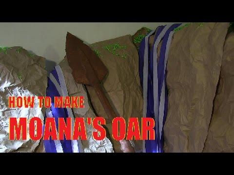 How to Make Moana's Oar