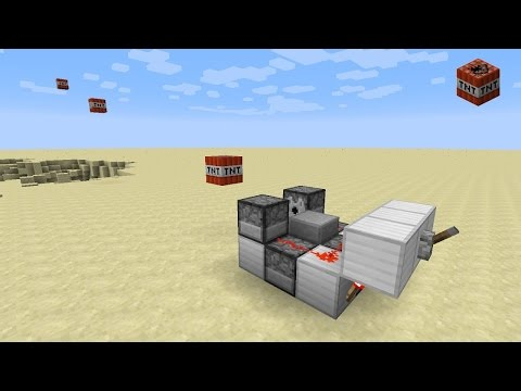 Minecraft 1.12 - Rapid fire TNT cannon (1.10+)