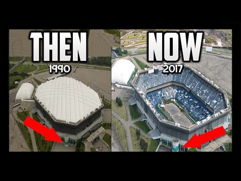 ABANDONED stadiums THEN & NOW