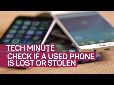 How to check if a phone is lost or stolen