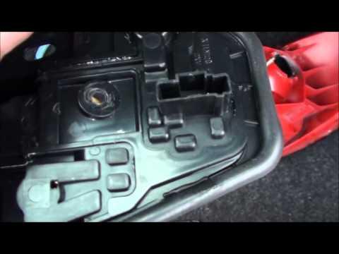 How to change back light on peugeot 206 easily