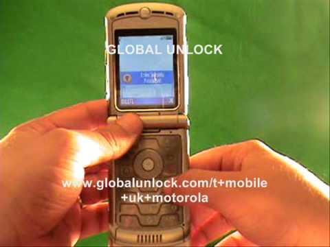 How To Unlock T Mobile UK Motorola