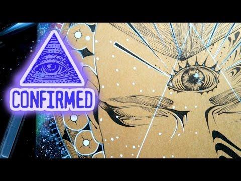 Gods & Goddesses: God of the Illuminati (ON MOLESKINE COVER)