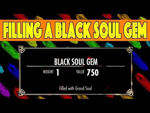 Skyrim - How to Fill a Black Soul Gem