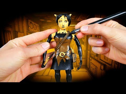 Making Allison Angel from Bendy and the Ink Machine Chapter 4!