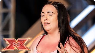 Kayleigh Taylor proves it's all about the voice | Auditions Week 1 | The X Factor 2017