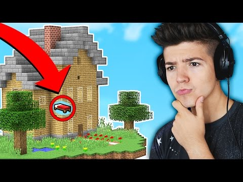 WE BUILT A HOUSE in MINECRAFT BED WARS! (Minecraft Trolling)