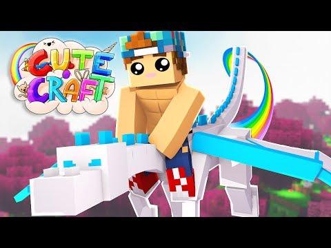 FINDING A BEAUTIFUL DRAGON! | CuteCraft #8