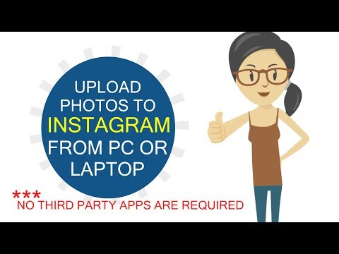 How to Upload Photos to Instagram from PC/LAPTOP