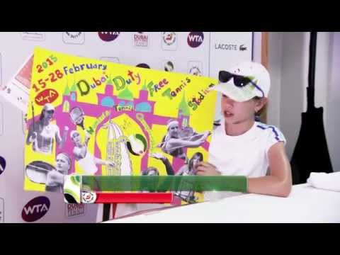 Kids' Competitions At Dubai Duty Free Tennis Championships