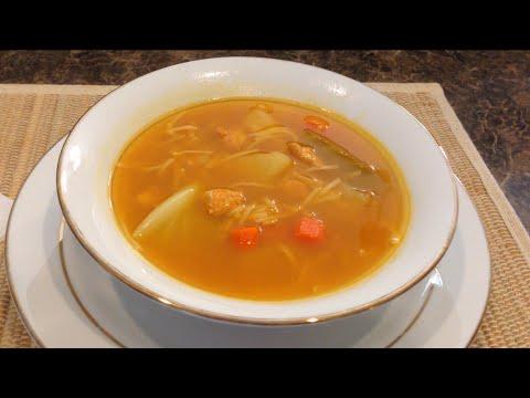 Sopa de Pollo con Fideos y Vegetales (Chicken Soup) - Ohhlala Café ♥