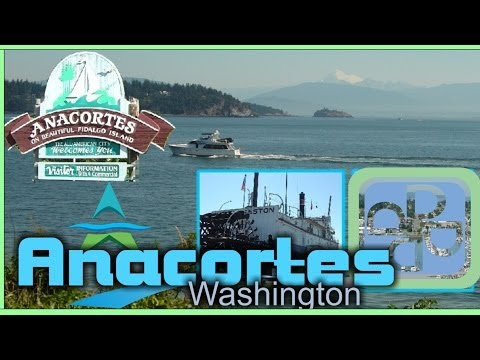 State Ferry Terminal - Anacortes Washington Visitor Information Video