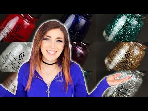 China Glaze Glam Finale Nail Polish Collection Swatch and Review || KELLI MARISSA