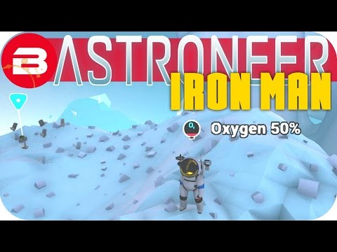 Astroneer Gameplay - IDIOTIC MOUNTAIN CLIMBER (ONE LIFE YOUR RULES ) #4 Let's Play Astroneer Ironman