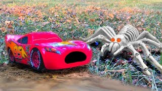 Disney Pixar Cars Toys SPECIAL Lightning McQueen and Mater Halloween Compilation Movie for Kids FUN