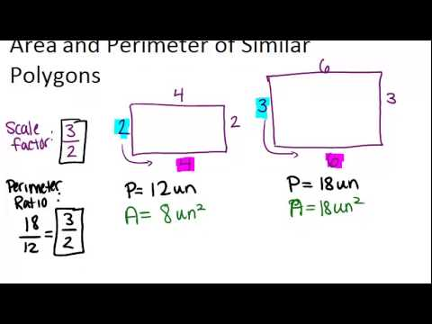 Area and Perimeter of Similar Polygons: Lesson (Geometry Concepts)