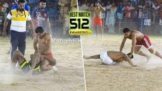 #512 Best Match   Doda Vs Dyalpura Mirza   Hamirgarh (Bathinda) Kabaddi Tournament 07 Jun 2019