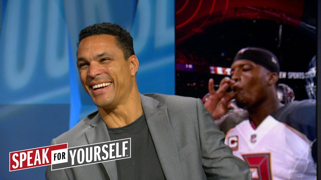 Tony Gonzalez on Mike Evans being suspended,  Jameis Winston's bust potential | SPEAK FOR YOURSELF