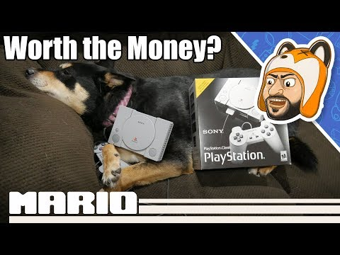 An Honest Look at the PlayStation Classic ft. Lily 🐶 | Unboxing, Review, and Recommendations