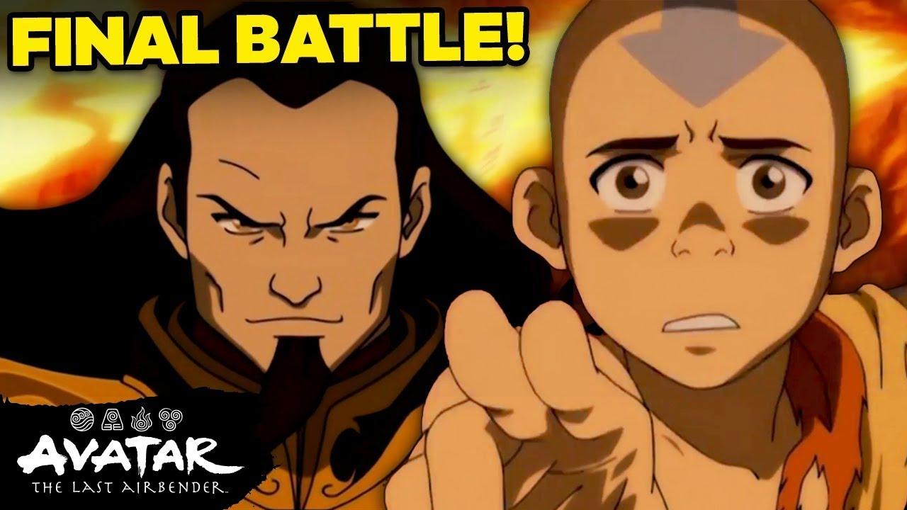 "FULL Uncut ""Aang vs. Fire Lord Ozai Final Battle"" 🔥  Avatar"