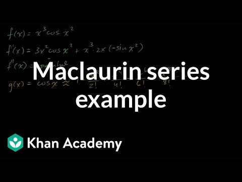 Worked example: power series from cos(x) | Series | AP Calculus BC | Khan Academy