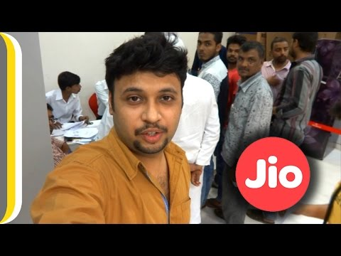Did I get the Jio sim card in 15 minutes ? [Hindi]