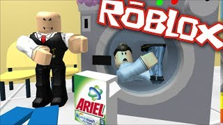 Roblox LAUNDRY ROOM OBBY / MAKE YOUR WAY THROUGH THE ROBLOX MAZE!! Roblox