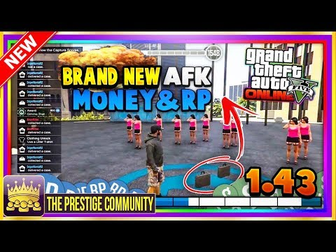 🌟 NEW MODDED RP JOB 1.43! 👀 Unlimited RP & Money Glitch 1.43 (GTA 5 Online Modded RP Job 1.43) PS4