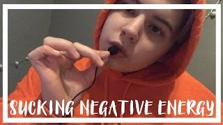 Download ASMR Sucking Away Your Negative Energy (Sucking Sounds) Video