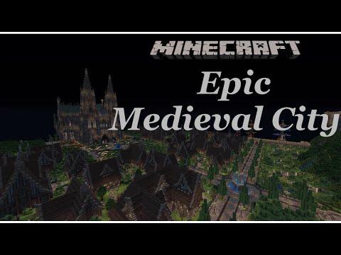 minecraft - Epic Medieval City