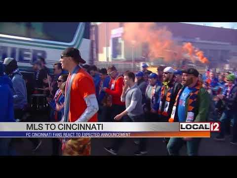 FC Cincinnati fans excited ahead of