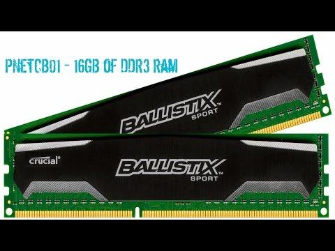 Crucial Ballistix Sport 16GB DDR3 Ram