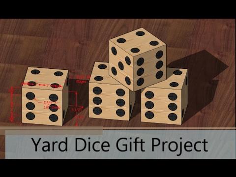 DIY Yard Yahtzee / Yard Dice