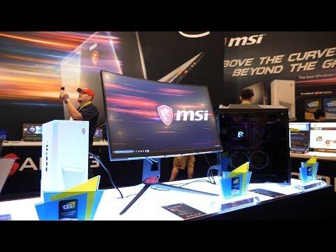 MSI's new RGB Gaming Monitors!