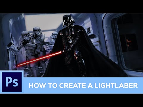 How To Create A Lightsaber & Neon Effect (Photoshop Tutorial)
