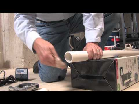 How to Cut and Glue PVC Pipes - Basement Watchdog