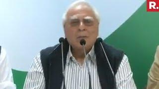 Kapil Sibal Attack Government On Nirav Modi Scam