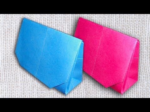 How To Make a Simple Paper Purse for Girls | Easy DIY Handbag.