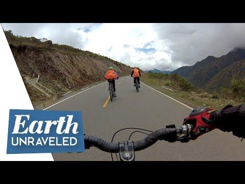 Mountain Biking in the Clouds - Inca Trail, Peru 🇵🇪