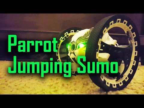 Parrot Jumping Sumo Overview!