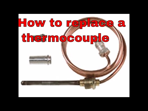 how to replace thermocouple on furnace