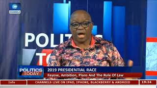 Why I Want To Be President - Gov Fayose