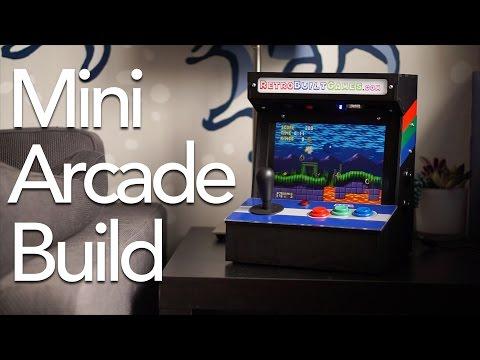 Build a PortaPi Mini Tabletop Arcade!