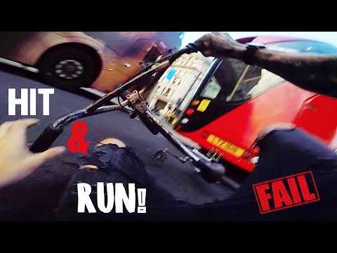 LONDON HIT & RUN BY A BUS! *FOOTAGE*