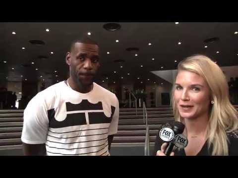 LeBron James unveils new Nike shoe, 'LeBron XIII'
