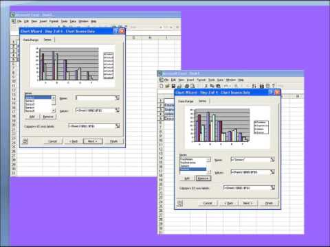 Making a Chart in Excel 2000
