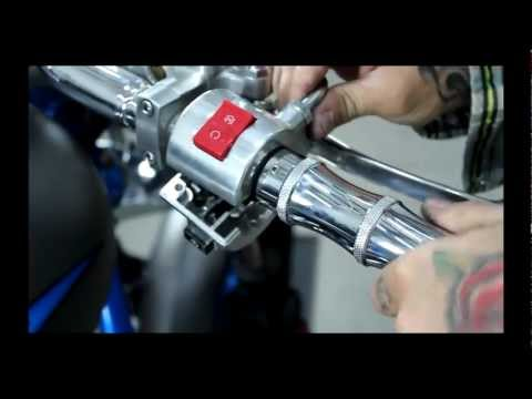 Accutronix Hand Grips For The Honda Fury by Low and Mean
