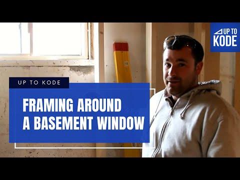 Frame Around Basement Window  - Example 2 (#1013)